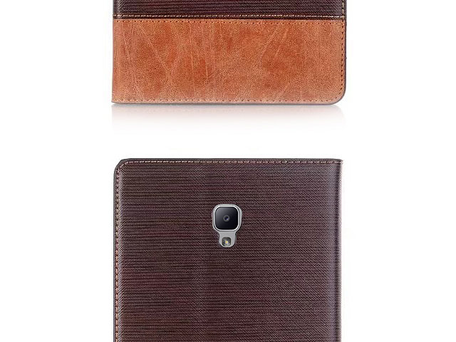 Samsung Galaxy Tab A 8.0 (2017) Two-Tone Leather Flip Case