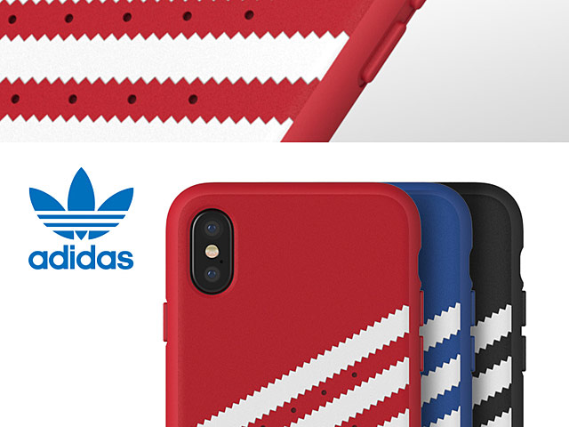 Adidas Original Stripe Moulded Case for iPhone X