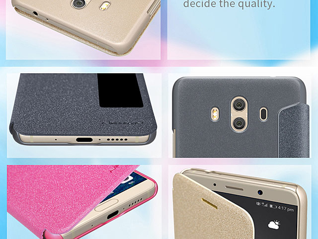NILLKIN Sparkle Leather Case for Huawei Mate 10