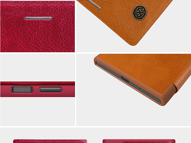 NILLKIN Qin Leather Case for Sony Xperia XZ1