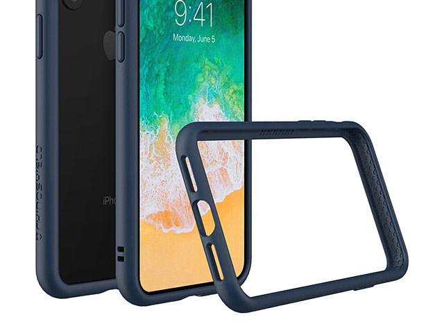 RhinoShield CrashGuard Bumper Case for iPhone X
