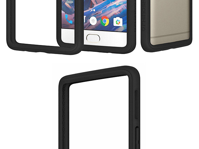 best service c5464 08d4b RhinoShield CrashGuard Bumper Case for OnePlus 3 / 3T