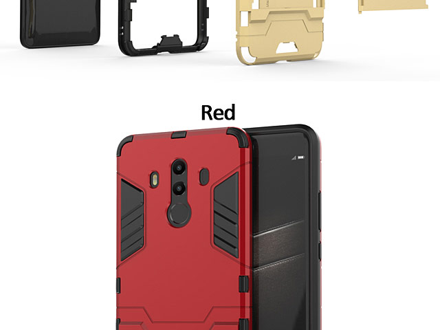 Huawei Mate 10 Pro Iron Armor Plastic Case
