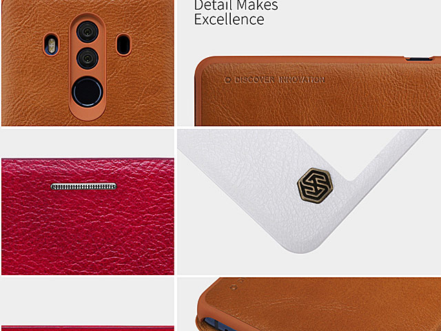 NILLKIN Qin Leather Case for Huawei Mate 10 Pro