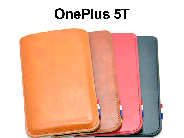 OnePlus 5T Leather Sleeve