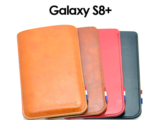 Samsung Galaxy S8+ Leather Sleeve