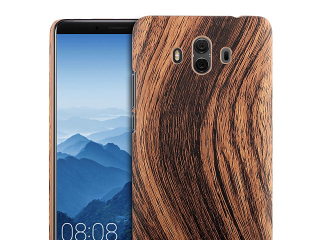 Huawei Mate 10 Woody Patterned Back Case
