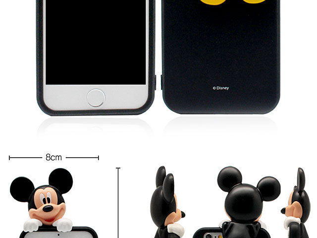 iPhone 8 Plus 3D Mickey Mouse Jelly Case