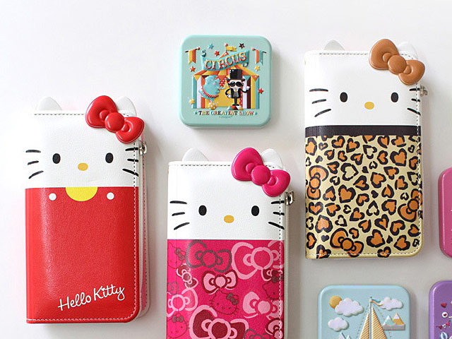 big sale 09dcf 582d0 iPhone X Hello Kitty Wallet Flip Case