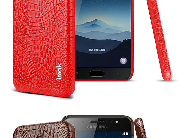 Imak Crocodile Leather Back Case for Samsung Galaxy C7 (2017)