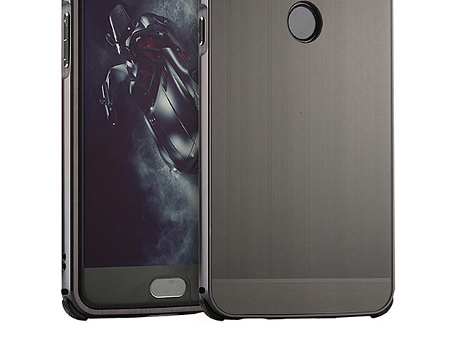 OnePlus 5T Metallic Bumper Back Case