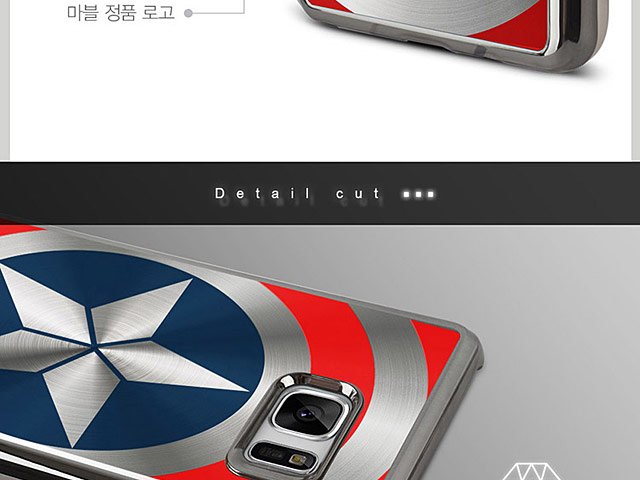 MARVEL Captain America Shield Case for Samsung Galaxy Note8