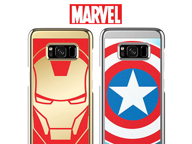 MARVEL Art Back Case for Samsung Galaxy S8