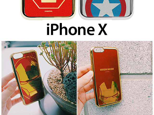 MARVEL Art Back Case for iPhone X