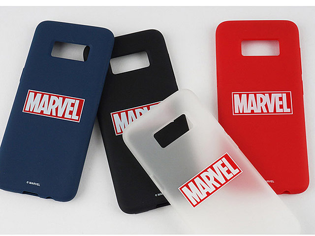 MARVEL Logo Slim Case for Samsung Galaxy S8+