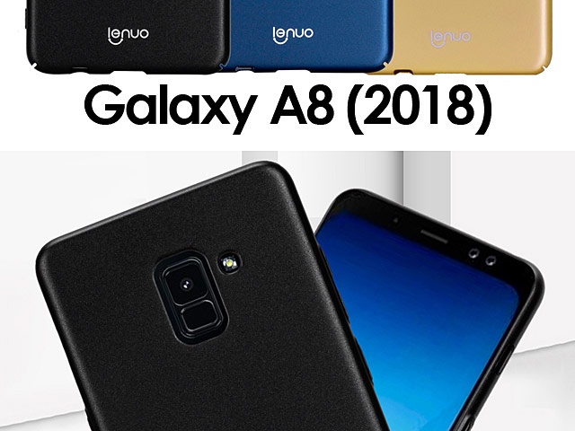 LENUO Leshield Series PC Case for Samsung Galaxy A8 (2018)