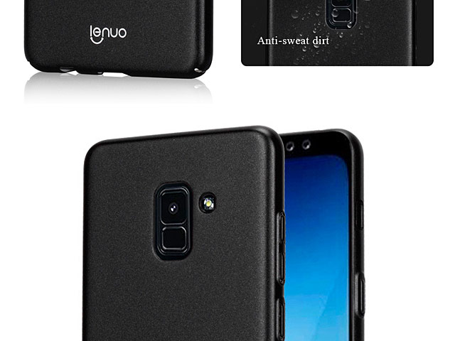 LENUO Leshield Series PC Case for Samsung Galaxy A8+ (2018)