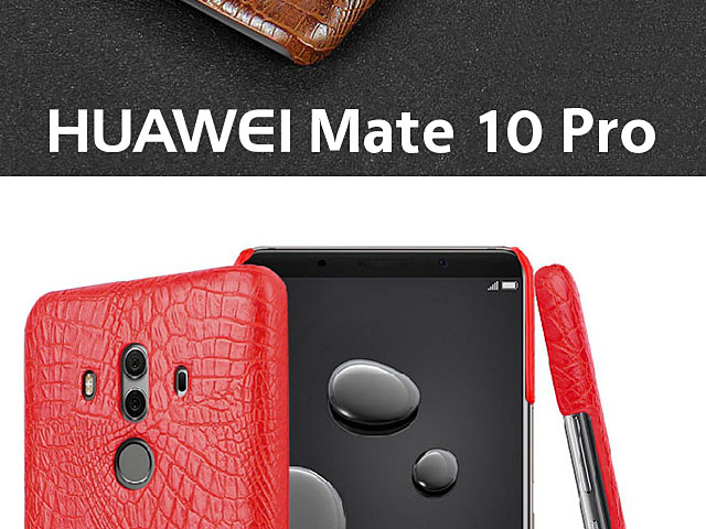 Imak Crocodile Leather Back Case for Huawei Mate 10 Pro