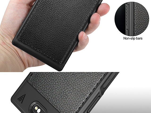 LENUO Gentry Series Leather Coated TPU Case for Sony Xperia XZ1