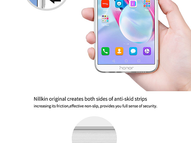 NILLKIN Nature TPU Case for Huawei Honor 9 Lite