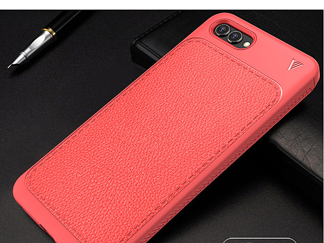 LENUO Gentry Series Leather Coated TPU Case for Huawei nova 2s