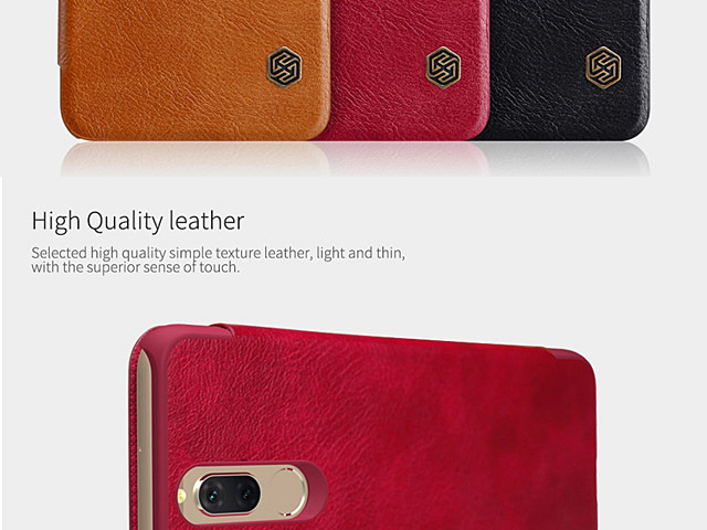 NILLKIN Qin Leather Case for Huawei Mate 10 Lite