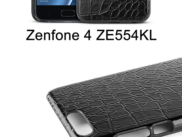 Asus Zenfone 4 ZE554KL Crocodile Leather Back Case