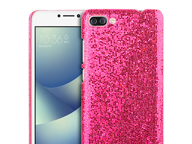 the best attitude 652e2 b7b30 Asus Zenfone 4 Max Pro ZC554KL Glitter Plastic Hard Case