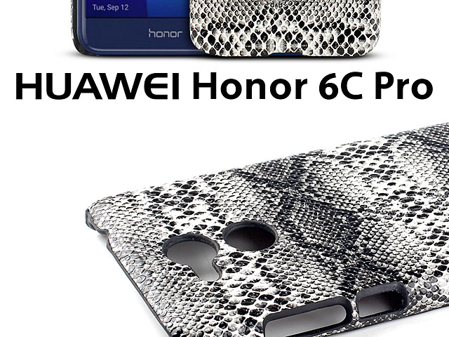 Huawei Honor 6C Pro Faux Snake Skin Back Case
