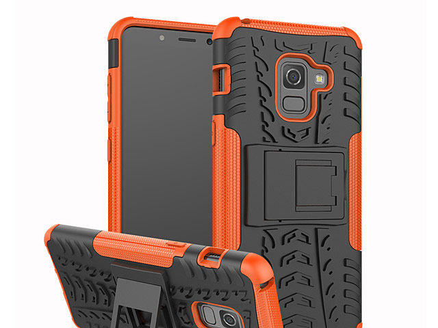 Samsung Galaxy A8 (2018) Hyun Case with Stand