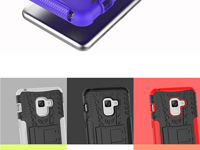 Samsung Galaxy A8+ (2018) Hyun Case with Stand