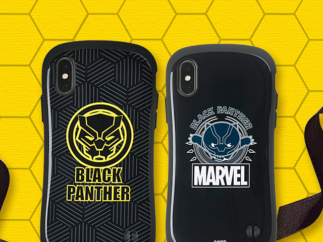 newest 60903 6c3c1 iFACE Marvel Black Panther Case for iPhone X