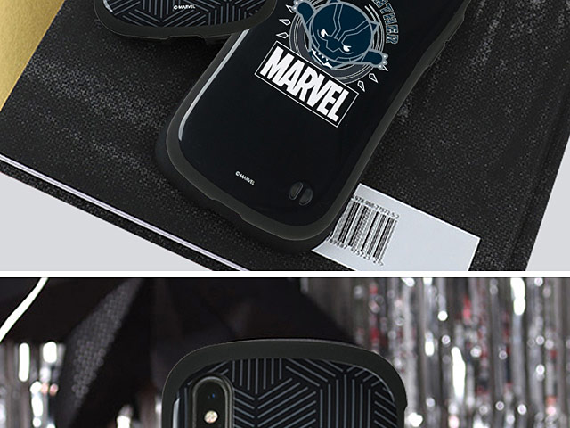 iFACE Marvel Black Panther Case for iPhone X