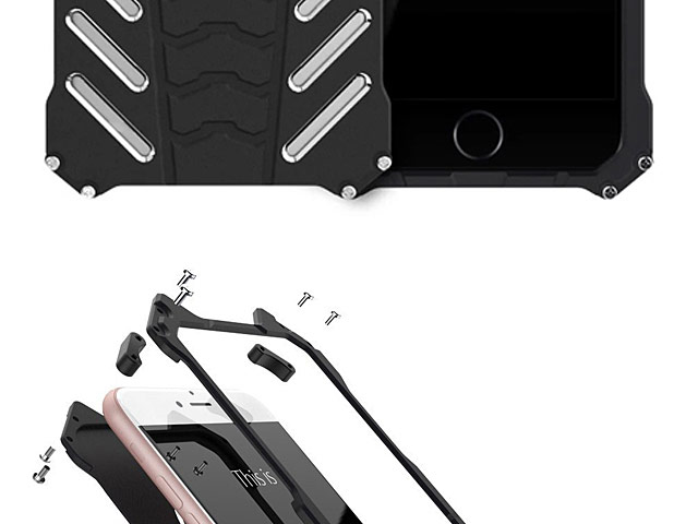 iPhone 8 Bat Armor Metal Case