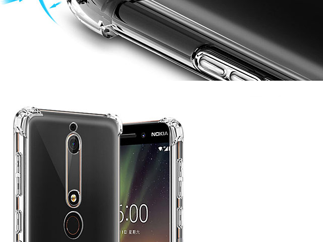 Imak Shockproof TPU Soft Case for Nokia 6 (2018)