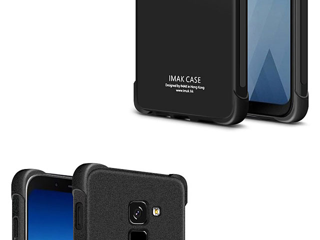 Imak Shockproof TPU Soft Case for Samsung Galaxy A8+ (2018)