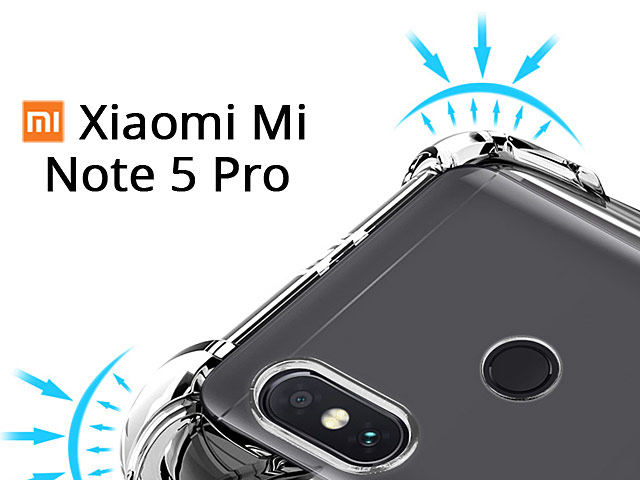 promo code 033e3 c5eae Imak Shockproof TPU Soft Case for Xiaomi Redmi Note 5 Pro