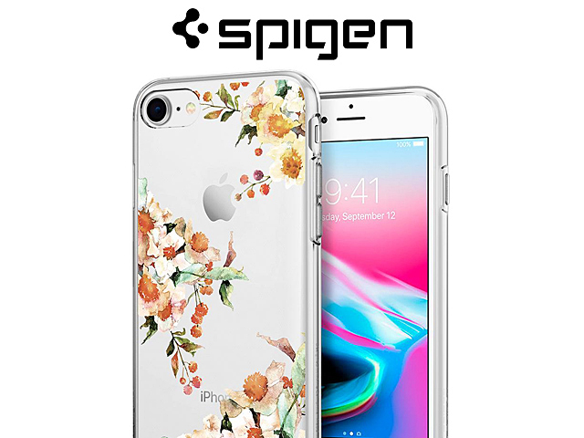 release date: 68f8b 47281 Spigen Liquid Crystal Aquarelle Soft Case for iPhone 7 / 8