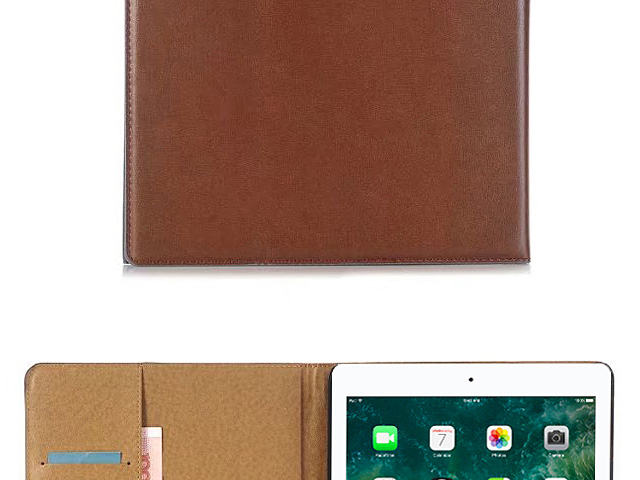 iPad 9.7 (2018) Leather Flip Case