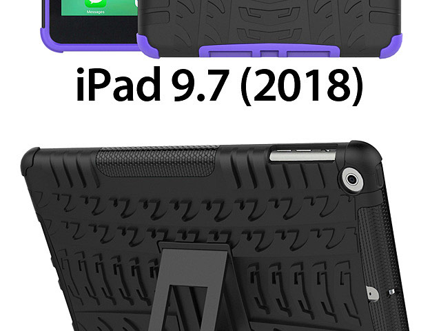 iPad 9.7 (2018) Hyun Case with Stand
