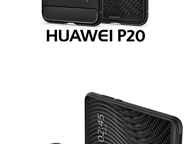 Spigen Rugged Armor Case for Huawei P20