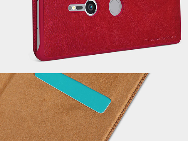 NILLKIN Qin Leather Case for Sony Xperia XZ2