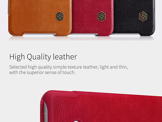 NILLKIN Qin Leather Case for Sony Xperia XZ2 Compact