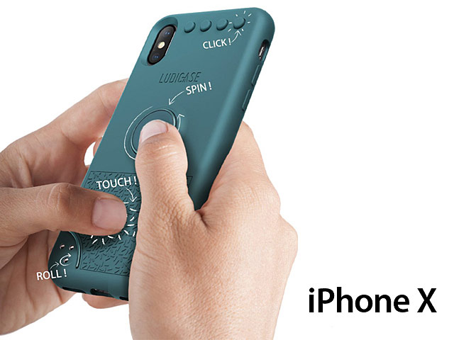Fidget Spinner Case for iPhone X