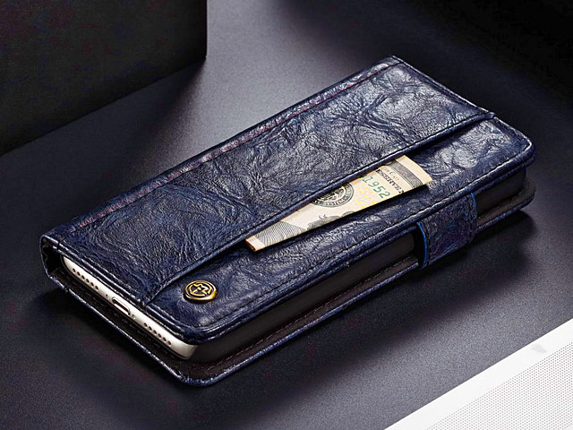 iPhone 6 / 6s Coarse Crack Slim Wallet Leather Case