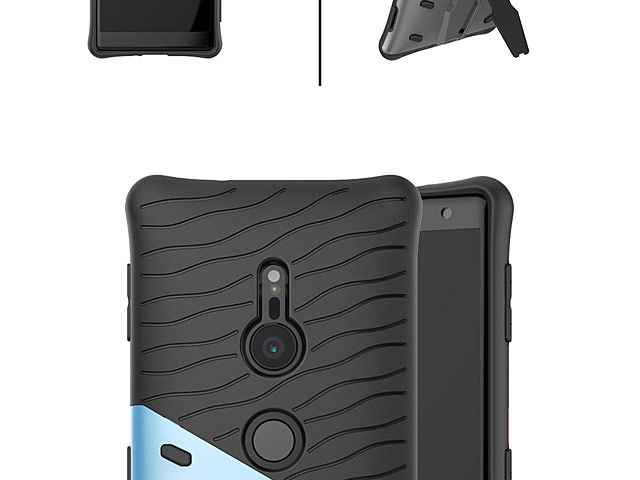 Sony Xperia XZ2 Armor Case with Stand