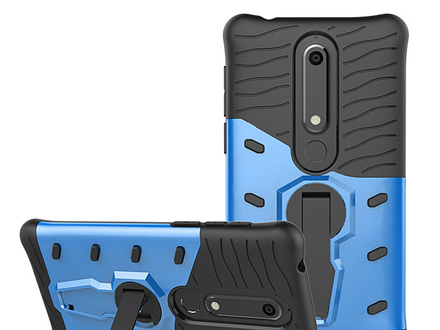 Nokia 6 (2018) Armor Case with Stand