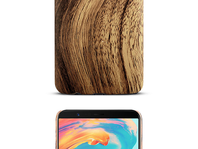 OnePlus 5T Woody Patterned Back Case