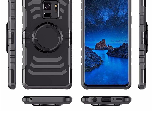 Samsung Galaxy S9 Magnetic Shell Case with Armband