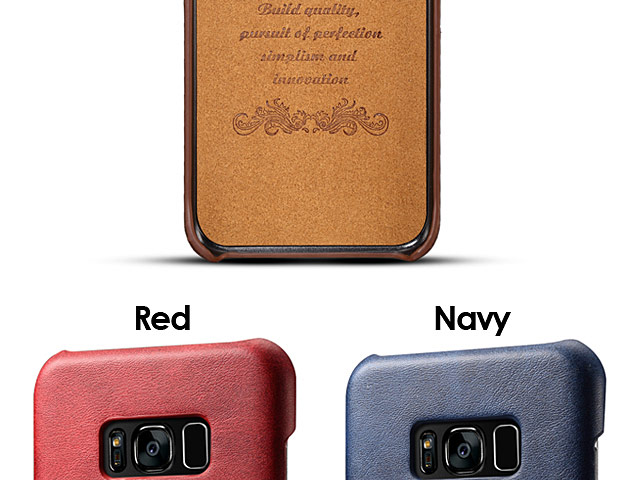 Samsung Galaxy S8+ Claf PU Leather Case with Card Holder